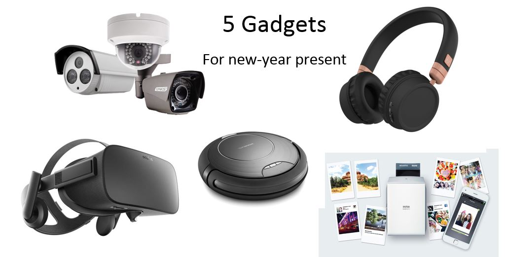 5 Gadgets which can be new-year present