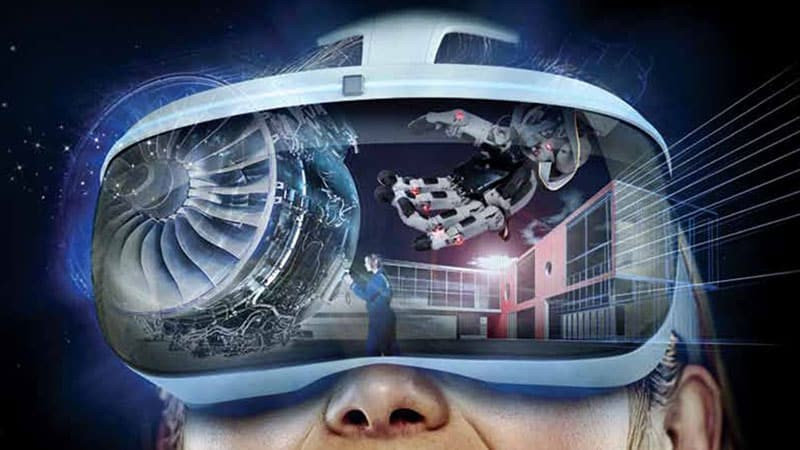 VR (Virtual Reality) Technology with Black Friday